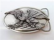 BERGAMOT BRASS WORKS EAGLE BELT BUCKLE